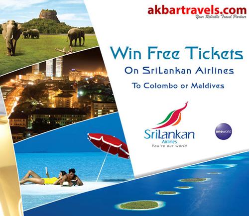 Sri Lankan Free Air Tickets Offers