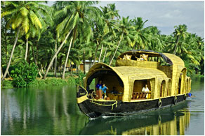 meandering lagoons and backwaters