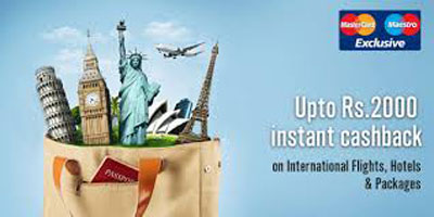 cleartrip Rs.2000 Instant Cashback