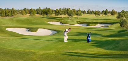 Golf course with 18 holes, Gulmarg