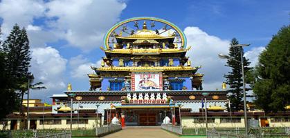 Tibetan Golden Temple