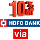 International Flight Tickets for HDFC Bank
