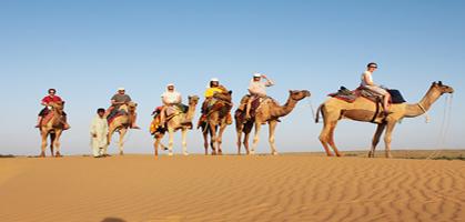 Camel Ride, Jaisalmer