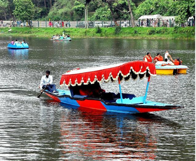 Kodai Lake Boat ride