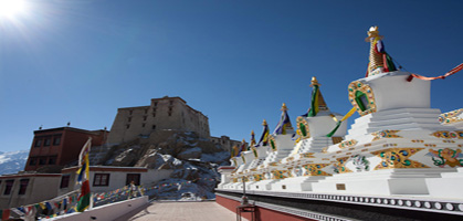 Thiksey Monastery1