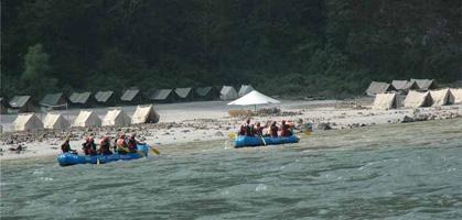 White Water Rafting, Rishikesh