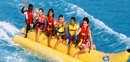 Banana Boat Ride Maldives