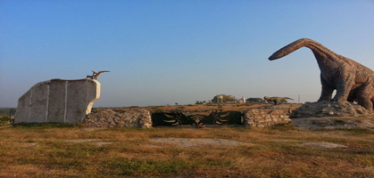 Dinosaur park , Balasinor
