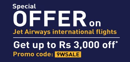 Jet Airways International Flight Offer   Musafir