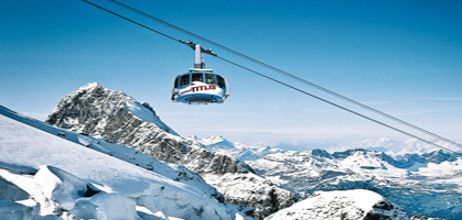 Titlis Rotair Revolving cable car