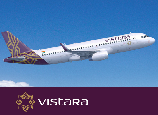 Vistara Airlines Flights