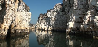 Bhedaghat Marble Rock