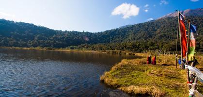 Khachapuri wishing Lake
