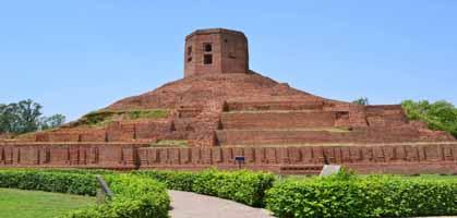 Chaukhandi Stupa Sarnath