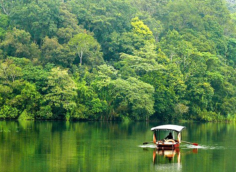 Pookot Lake in Wayand