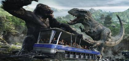 Universal Studios tram car ride