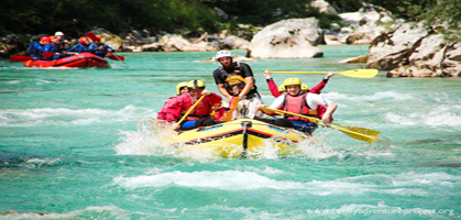 White Water Rafting pelling