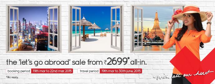 go abroad' sale