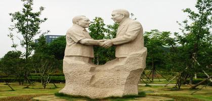 Deng Xiao Ping Statue