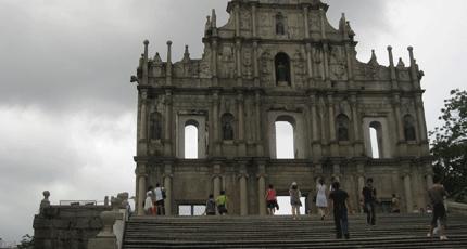 Ruins of St. Paul's Church