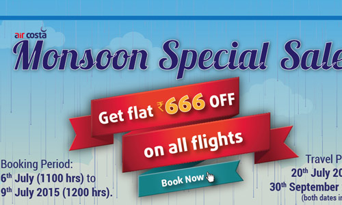 Aircosta  Special Monsoon Sale