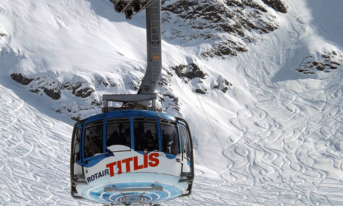 Mount Titlis cable car