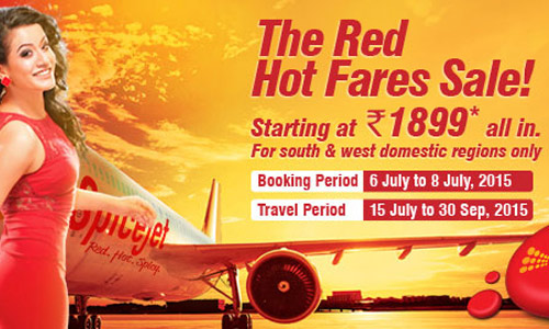 Red Hot Fares Sale