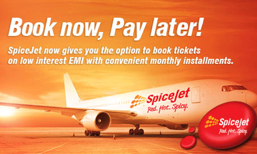 SpiceJet Book Now Pay Later