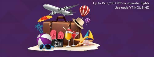 Get Up To Rs 1,200 Off On Domestic Flights