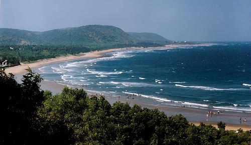 Vishakhapatnam beach