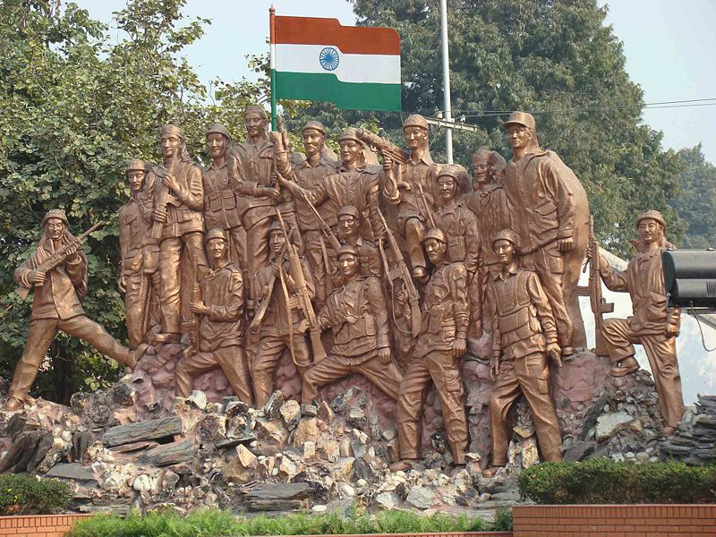 A Monument At Bareilly