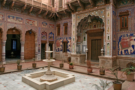 A haveli in Shekhawati