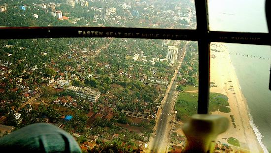 Aerial View of Calicut