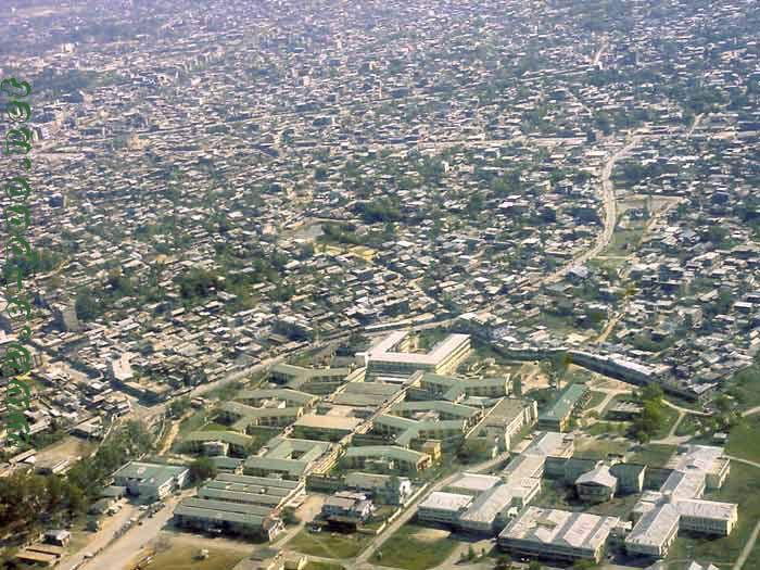 Aerial View of Imphal