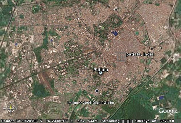 Aerial View of Patiala