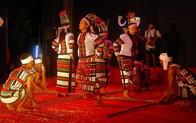 Aizawl Bamboo Dance