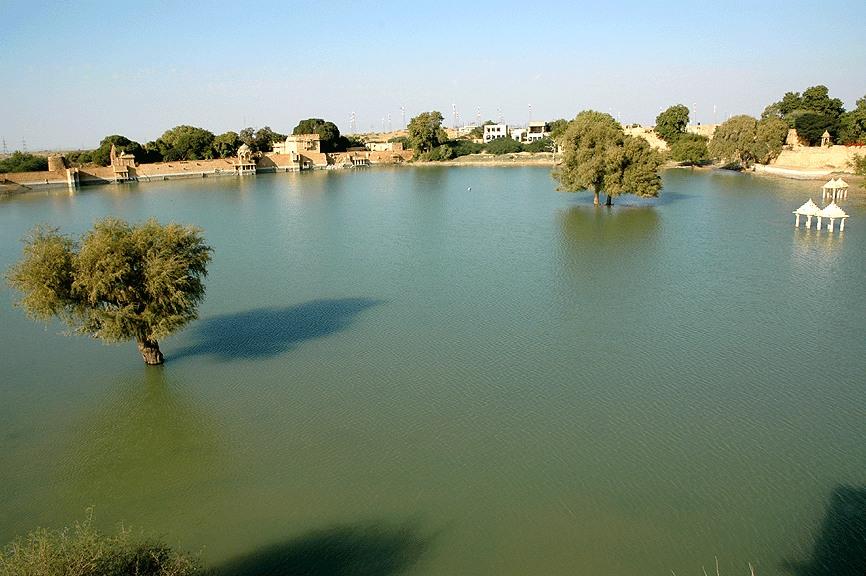 Amar Sagar Lake, Jaisalmer