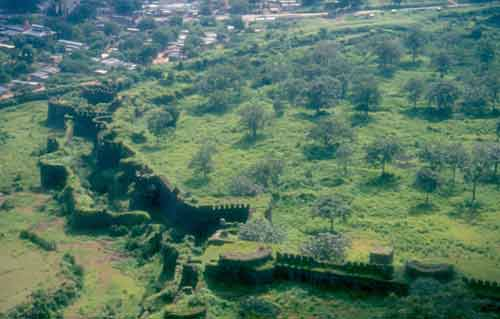 Aurangabad city walls