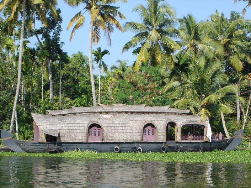 Back waters in kerala