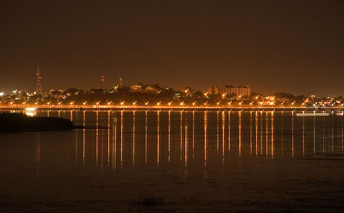 Bhopal Lake View at Night