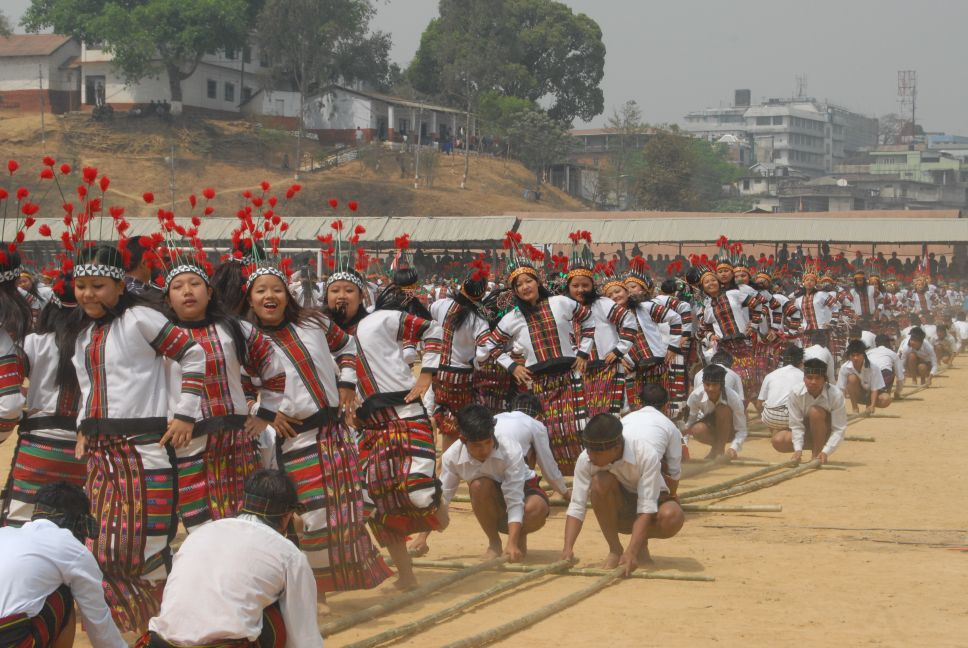 Cheraw Mizo Dance