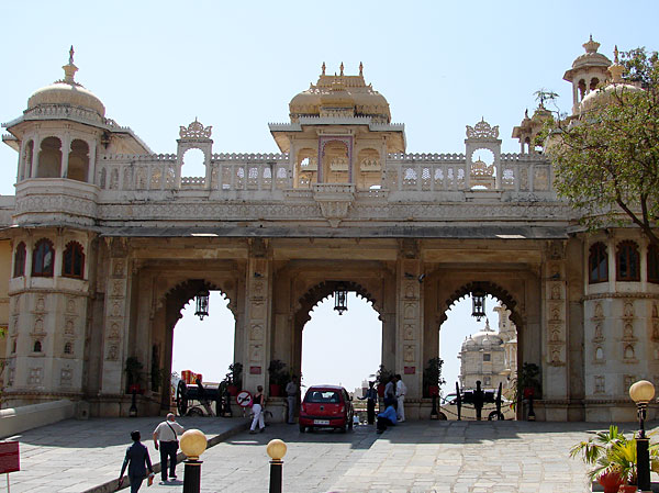 City Palace complex gateway, Udaipur