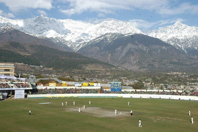 Cricket ground at dharamshala