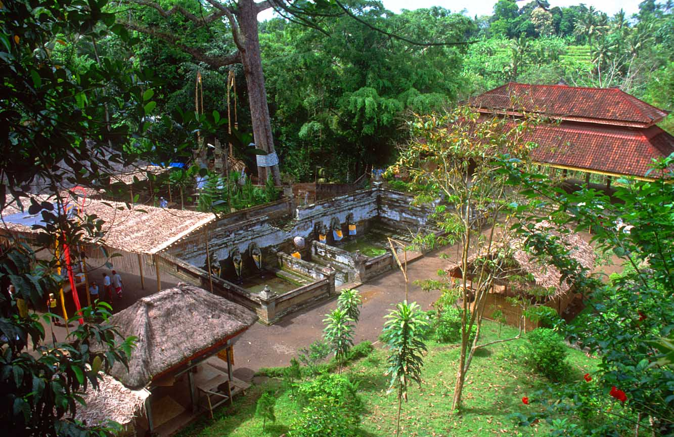 Goa Gajah bathing pools