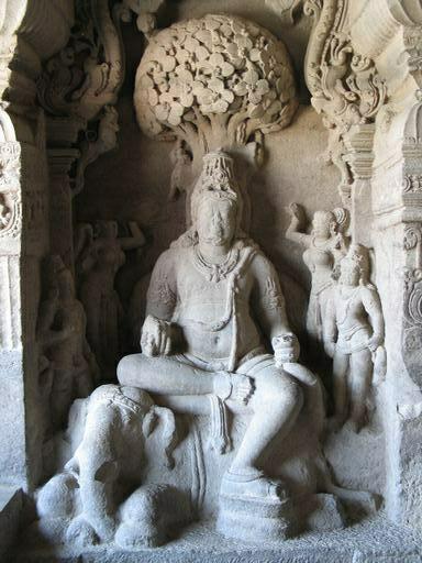 Ellora Caves Hindu Cave