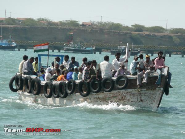 Ferry tour in Dwarka