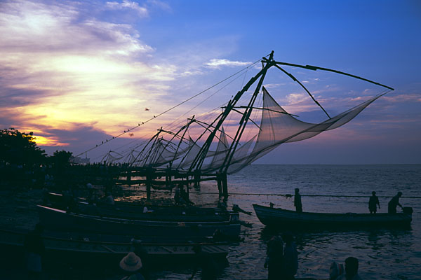 Fishing at Cochin