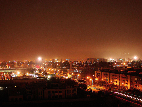 Ghaziabad Night View