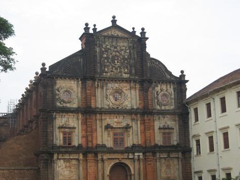 Goa Basilica Church Goa