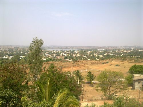 Hubli View from Nrupatunga Hill